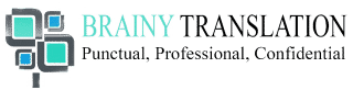 Logo Brainytranslation